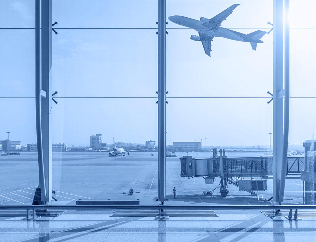 Visto B airport-terminal